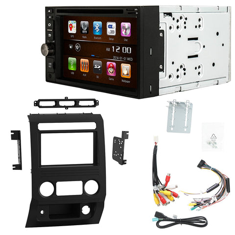 Otto Navi S-Series DVD GPS Navigation Multimedia Radio and Dash Kit for Ford F-450