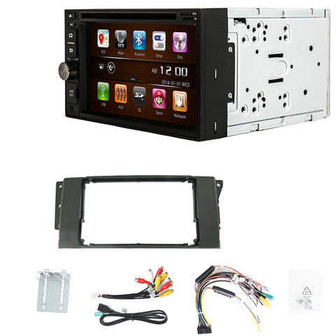 Otto Navi S-Series DVD GPS Navigation Multimedia Radio and Dash Kit for Land Rover Multi Kit 2005-2012