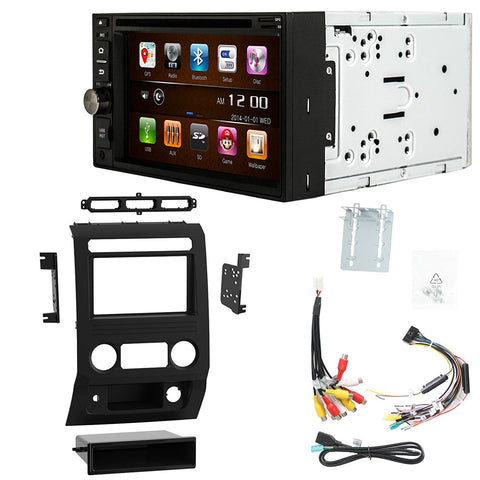 Otto Navi S-Series DVD GPS Navigation Multimedia Radio and Dash Kit for Ford F-250