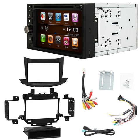 Otto Navi S-Series DVD GPS Navigation Multimedia Radio and Dash Kit for Chevrolet Trax 2017 and up