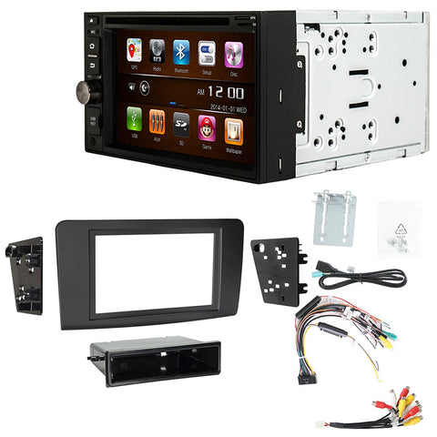 Otto Navi S-Series DVD GPS Navigation Multimedia Radio and Dash Kit for Mercedes Benz ML Class 2006-2011