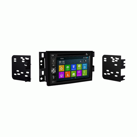 GPS Navigation Multimedia Radio and Dash Kit for Chevrolet Aveo 2007-2011
