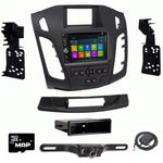 "GPS Navigation Radio and Dash Kit for Ford Focus 2015-2018 (with 4.2"" screen)"