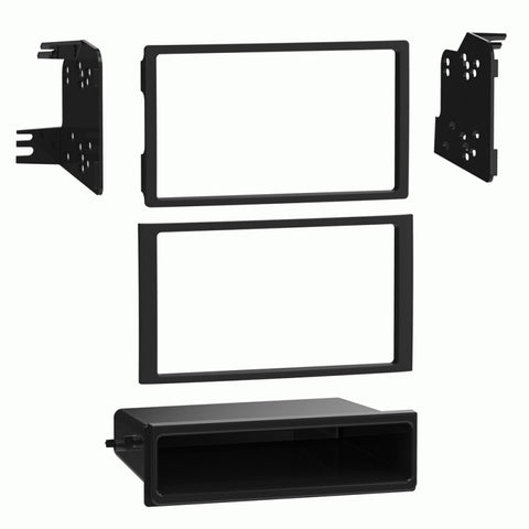 GPS Navigation Multimedia Radio and Dash Kit for Honda Pilot 2003-2008