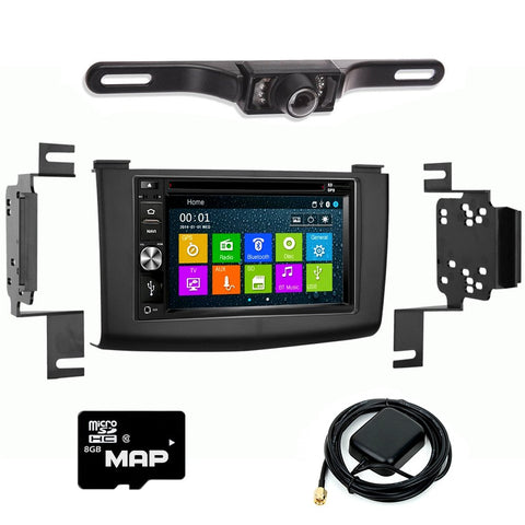 GPS Navigation Multimedia Radio and Kit for Nissan Rogue 2008-2011
