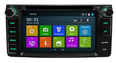 "6.2"" GPS Navigation Stereo for Select Toyota/Scion Vehicles 2002-2016"