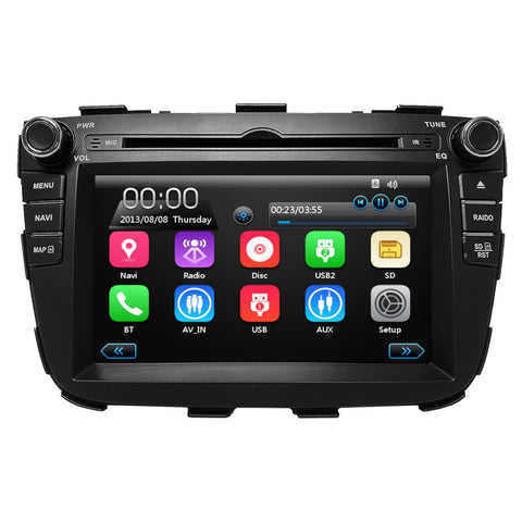 "7"" GPS Multimedia Bluetooth Plug and Play Radio for Kia Sorento 2011-2013"