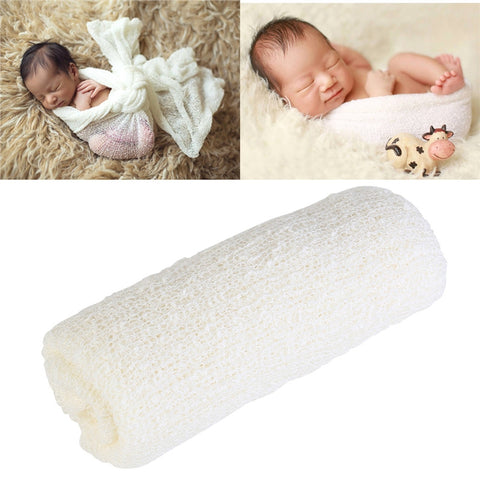 White Newborn Baby Towel Photography Prop- UrBasicneeds