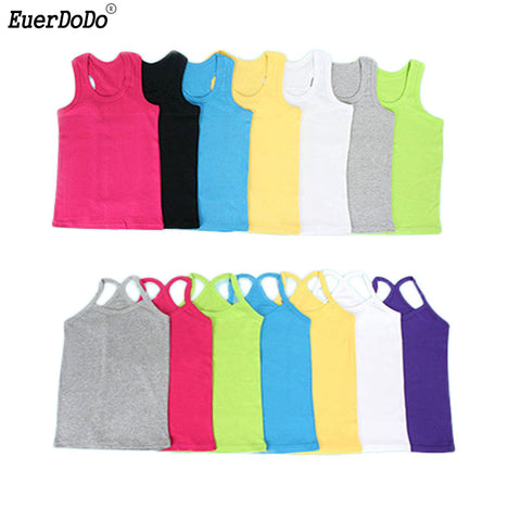 Candy Color Sleeveless Vests - UrBasicneeds