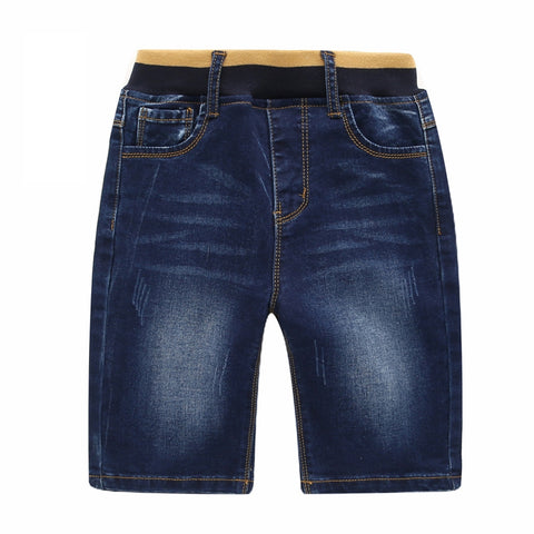 Boys Blue Short Adjustable Pants - UrBasicneeds