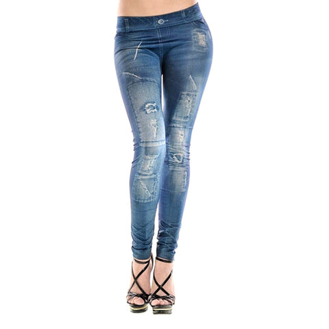Ripped Fading Jeans - UrBasicneeds