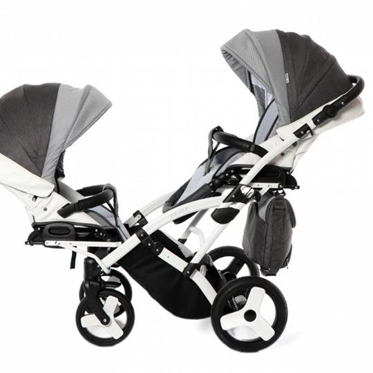 Moonlight Jaquard Duo Slim 2 in 1 Kids Stroller - Kids Buggy