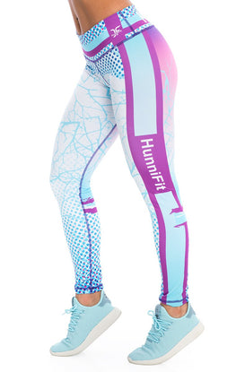 Luminous Blue Leggings