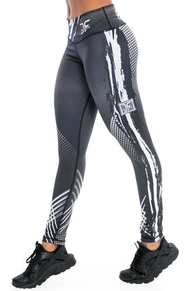 Phenom Black Leggings
