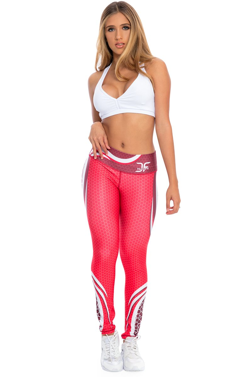 Radiance Red Leggings