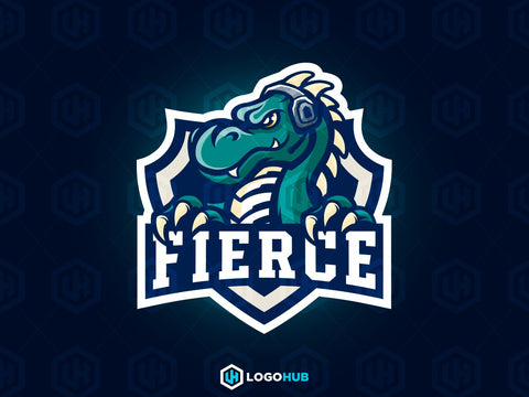 FIERCE (DRAGON) – LogoHive