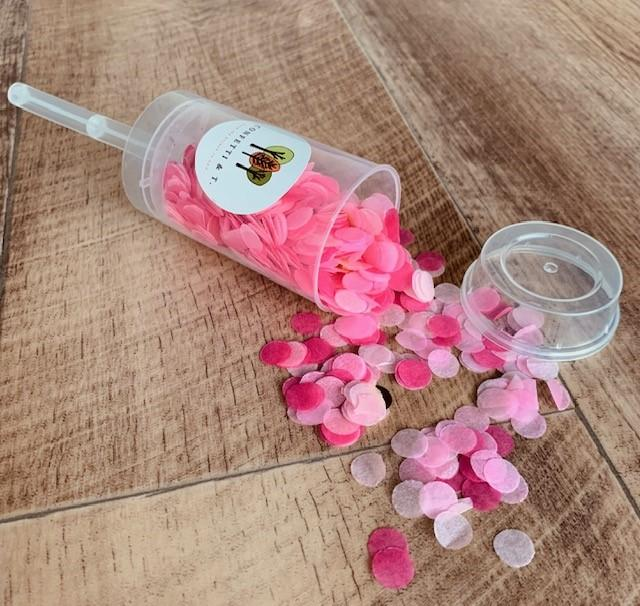 Baby Shower Confetti Popper - Girl
