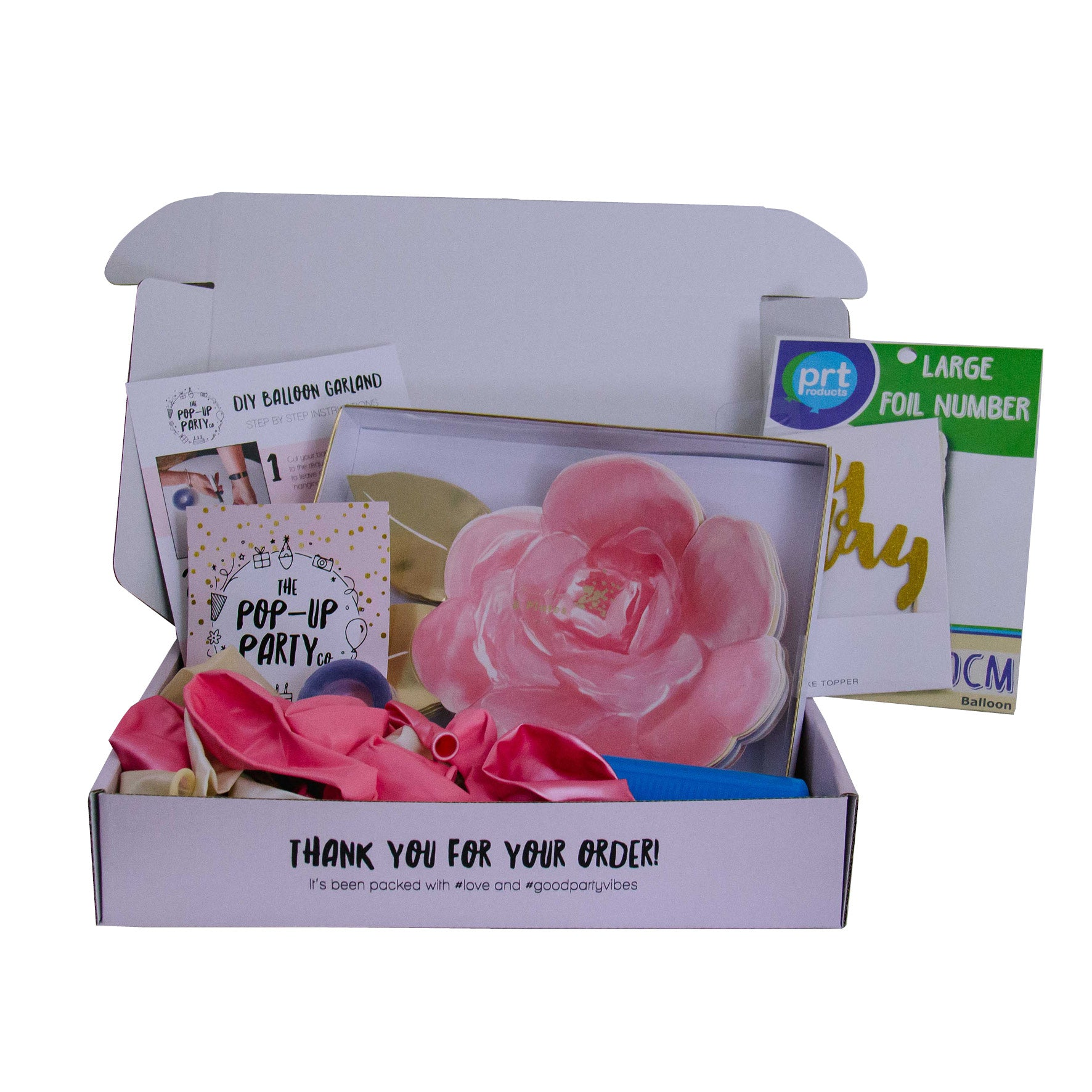 Party At Home Pack - Rose Garden