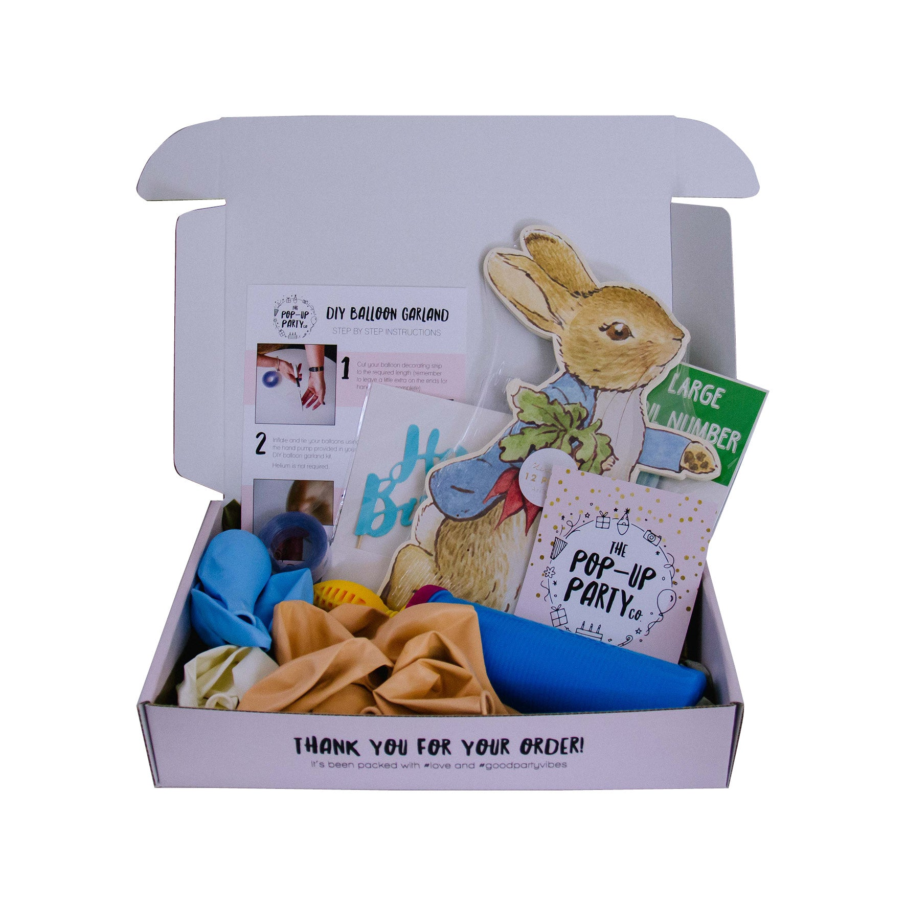 Party At Home Pack - Peter Rabbit