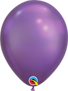 30cm chrome purple balloon