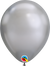 18cm chrome silver balloon