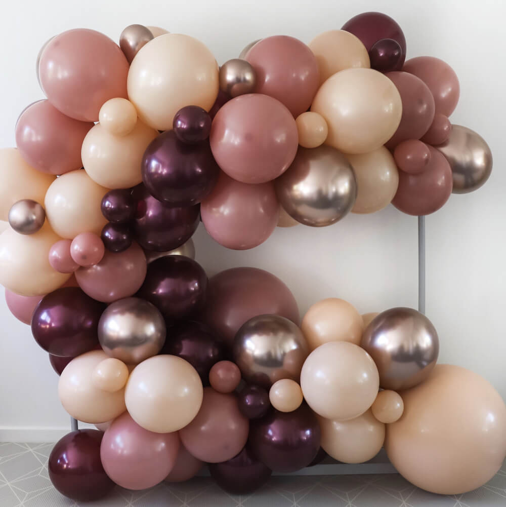 """Dusty Rose"" DIY Balloon Garland Kit"