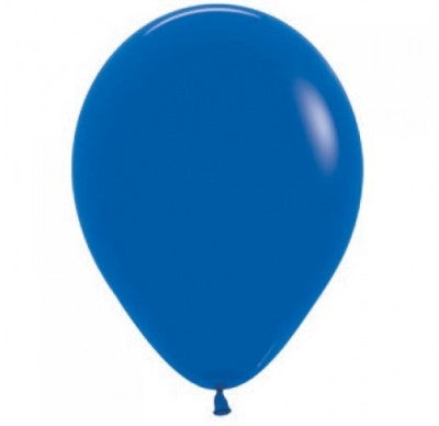 30cm royal blue balloon