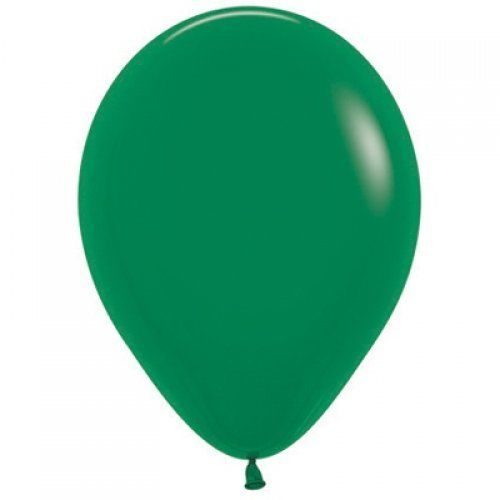 12cm forest green balloon