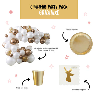Goldiluxe Christmas Party Pack