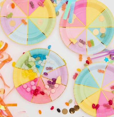 Colour Wheel Napkins - Pack of 20 - We Love Sundays