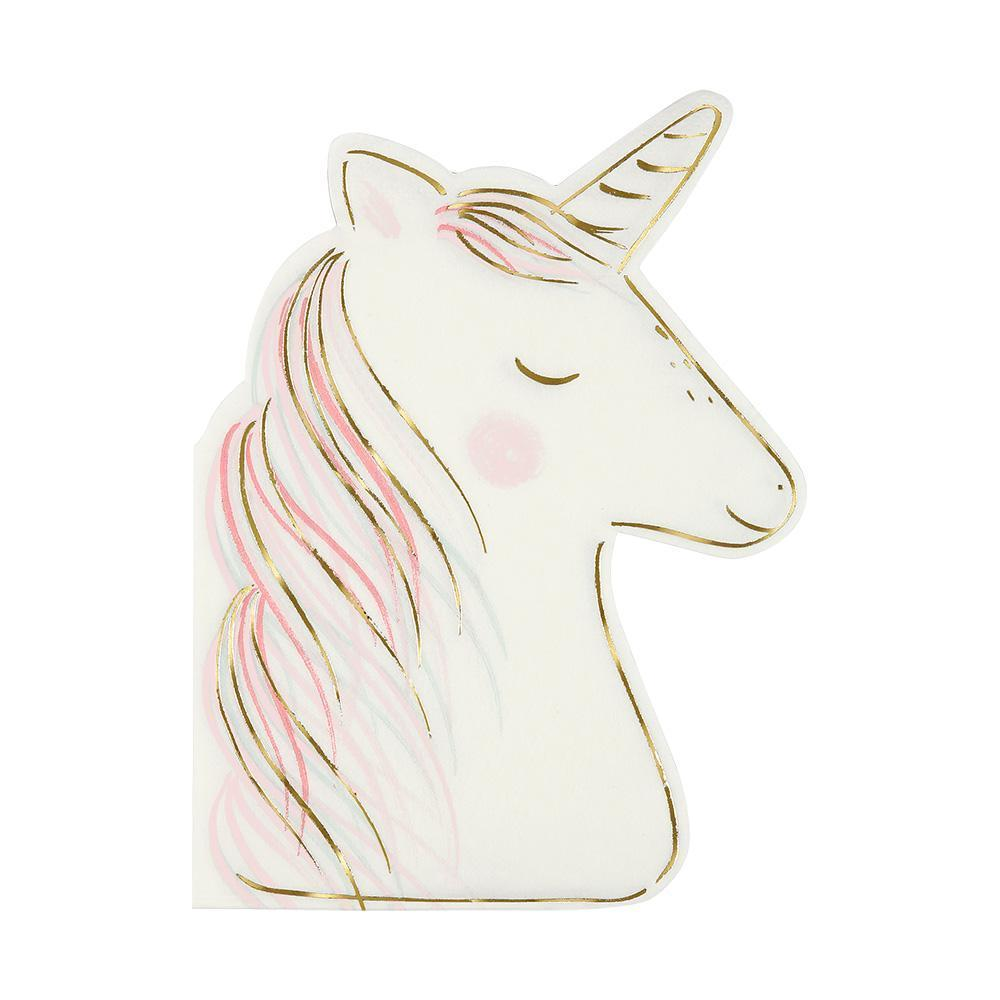 Unicorn Napkins - Pack of 16 - Meri Meri