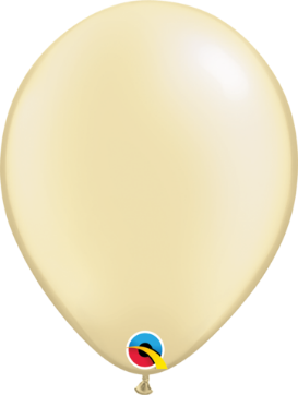 12cm pearl ivory balloon