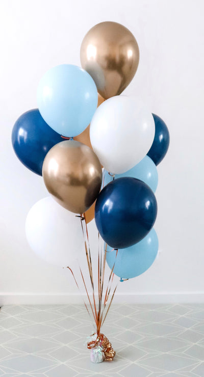 """True Blue"" Balloon Bunch"