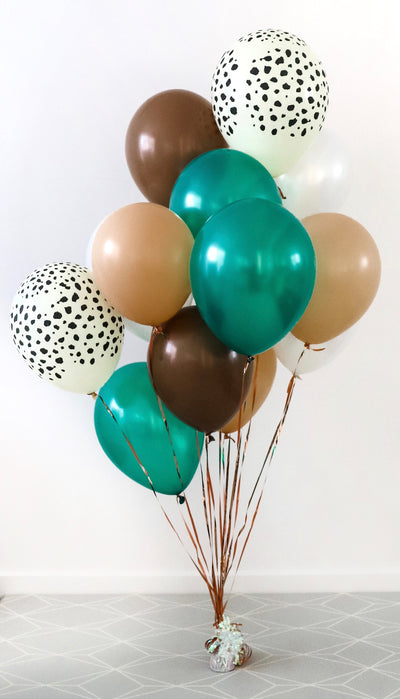 """Safari Soiree"" Balloon Bunch"