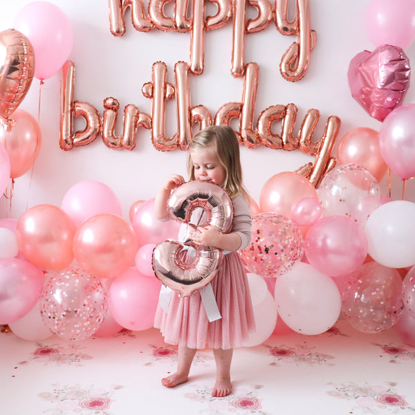 Rosy Pink Balloon Bundle