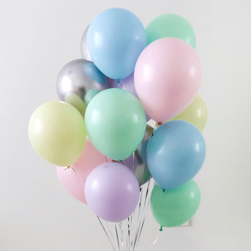 """Pastel Pop"" Balloon Bunch"
