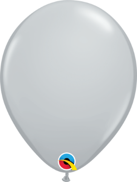 12cm grey balloon