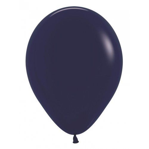 12cm navy blue balloon