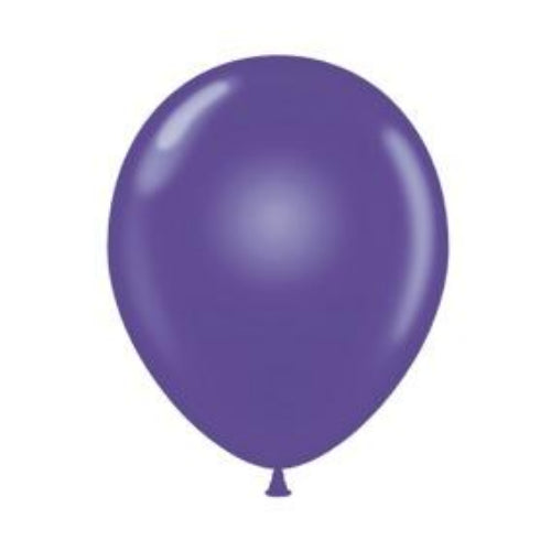 12cm purple balloon
