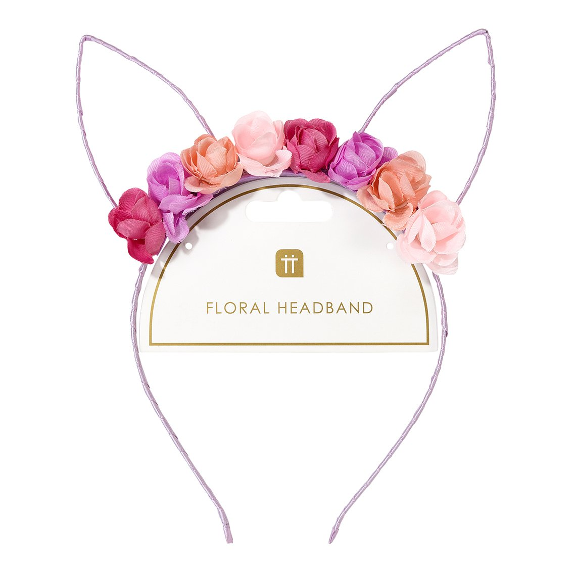 Bunny Ears Floral Headband - Talking Tables