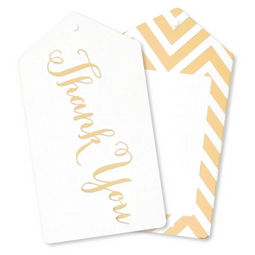 Gold Thank You Tags - Pack of 10 - Illume Partyware