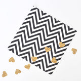 Chevron Black and White Napkins - Pack of 20 - Illume Partyware