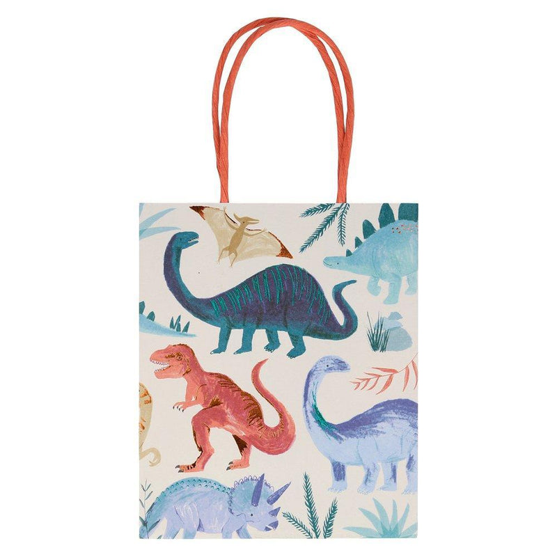 Dinosaur Kingdom Party Bags - Pack of 8 - Meri Meri