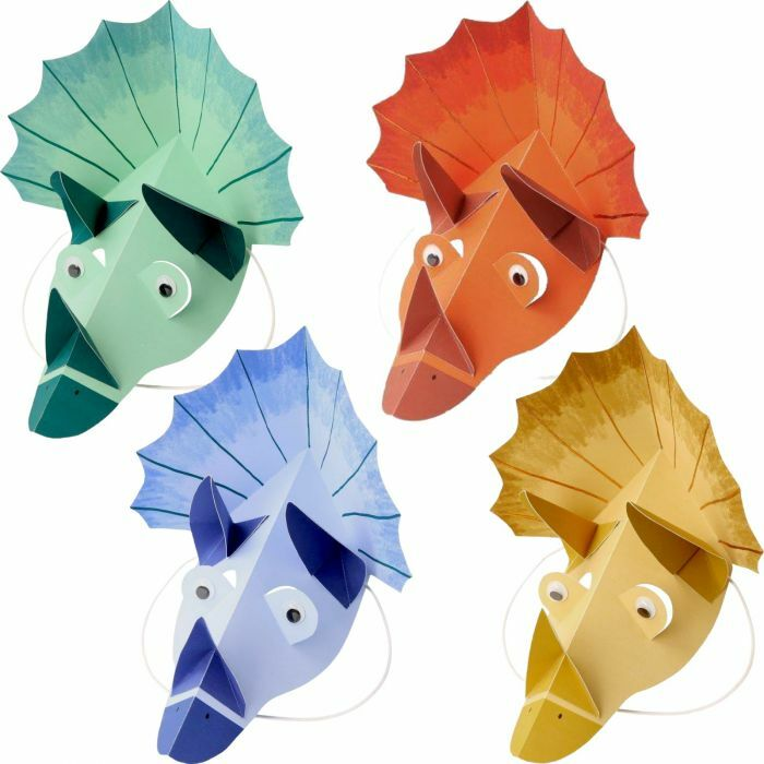 Dinosaur Kingdom Party Hats - Pack of 8 - Meri Meri