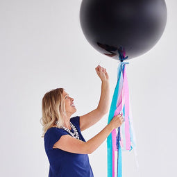 Gender Reveal Balloon - Girl - Poppies for Grace