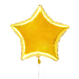 "Gold 19"" Foil Star Balloon - Illume Partyware"
