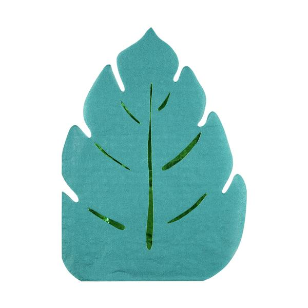 Jungle Leaf Party Napkins - Pack of 16 - Meri Meri