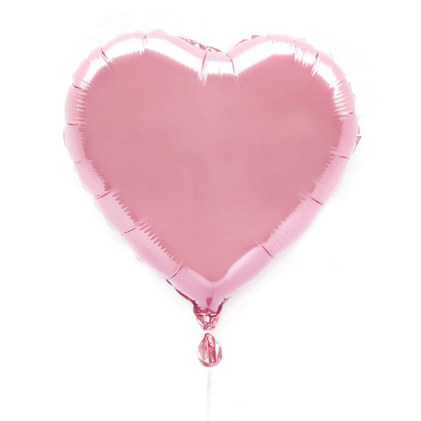 "Light Pink 18"" Foil Heart Balloon - Illume Partyware"