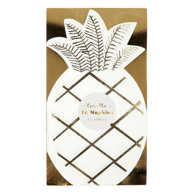 Pineapple Napkin - Pack of 16 - Meri Meri