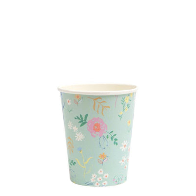 Wildflower Pastel Cup - Pack of 12 - Meri Meri